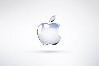 Apple Glossy Logo Picture for Android, iPhone and iPad