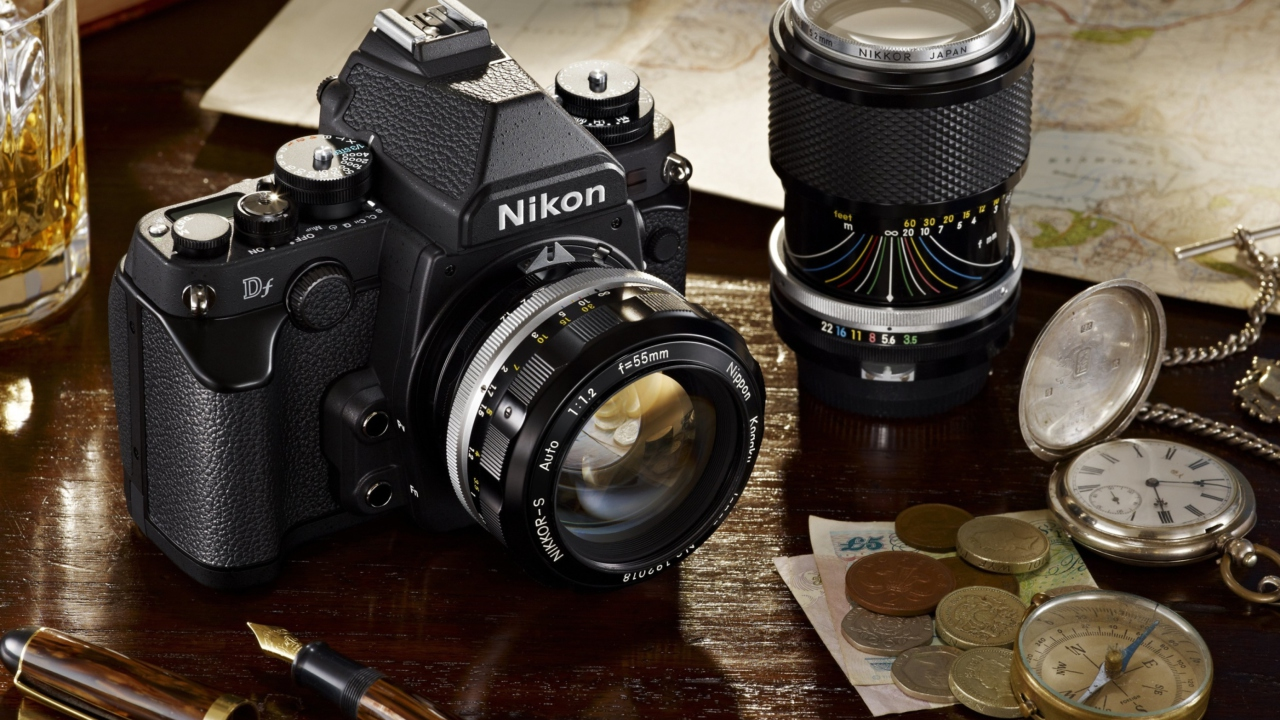 Nikon Camera And Lens