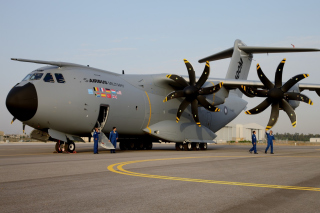 Airbus Military A400M Wallpaper for Android, iPhone and iPad