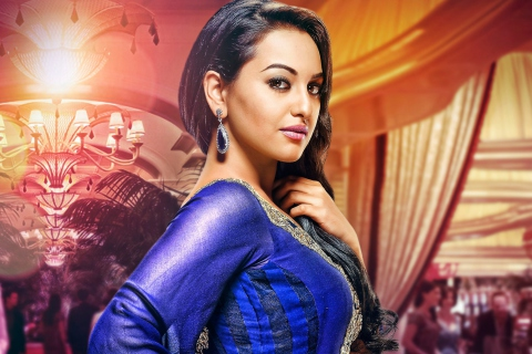 Sonakshi Sinha Indian Actress para LG E400 Optimus L3