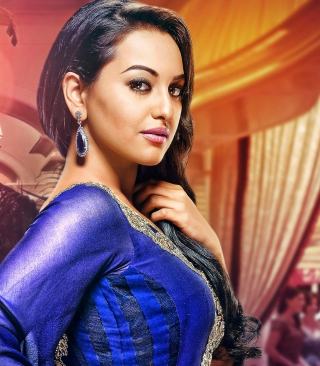 Sonakshi Sinha Indian Actress Wallpaper for Nokia Asha 310