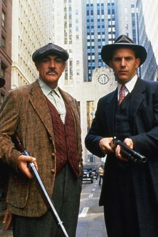 Screenshot №1 pro téma The Untouchables 1987 Film 320x480