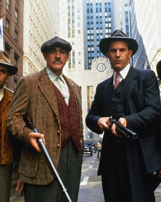 Kostenloses The Untouchables 1987 Film Wallpaper für 640x960
