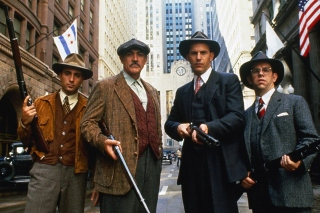 Kostenloses The Untouchables 1987 Film Wallpaper für 1400x1050