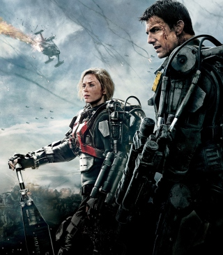 Edge Of Tomorrow 2014 Background for Nokia C2-03