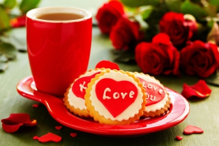 Love Biscuits Wallpaper for Android, iPhone and iPad