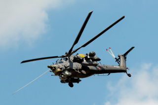 Mil Mi-28 Havoc Helicopter Picture for Android, iPhone and iPad