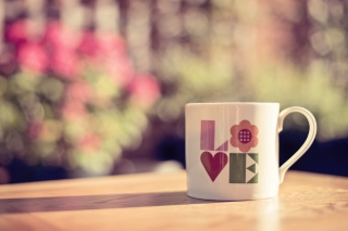 Love Mug Background for Android, iPhone and iPad