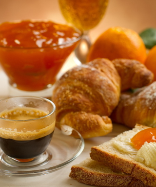 Continental Breakfast Wallpaper for 750x1334