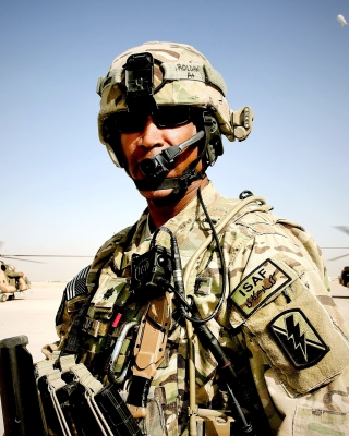 Afghanistan Soldier Wallpaper for iPhone 6 Plus