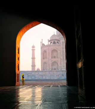 Taj Mahal, India sfondi gratuiti per iPhone 6 Plus