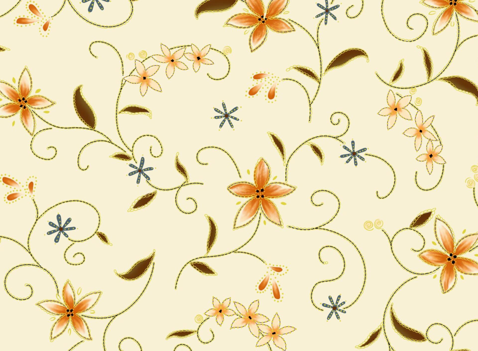 ромашки узор chamomile pattern скачать