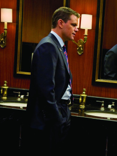 Das Adjustment Bureau Wallpaper 240x320