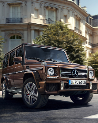 Mercedes Benz AMG G63 sfondi gratuiti per iPhone 6 Plus