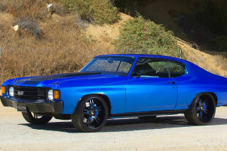 1972 Chevrolet Chevelle SS Coupe sfondi gratuiti per cellulari Android, iPhone, iPad e desktop
