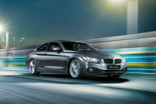 BMW 4 series Gran Coupe F32 Background for Android, iPhone and iPad