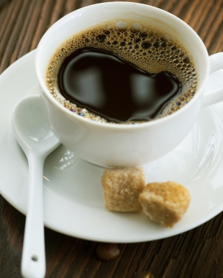Coffee with refined sugar Wallpaper for Nokia C1-01