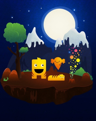 Free Magical Night Picture for Nokia 5800 XpressMusic