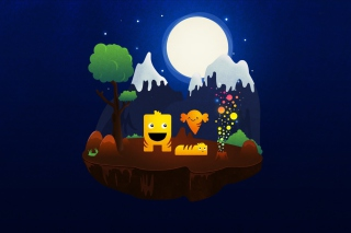 Magical Night Wallpaper for Samsung B7510 Galaxy Pro