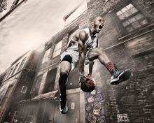 Screenshot №1 pro téma Basketball Player 220x176