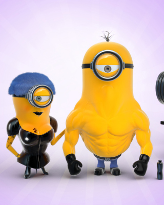 Despicable Me 2 in Gym sfondi gratuiti per Palm Pre 2 CDMA