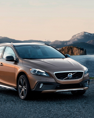 Free Volvo V40 Cross Country Picture for Nokia C2-05