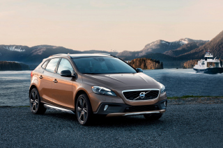 Volvo V40 Cross Country Background for Android 800x1280