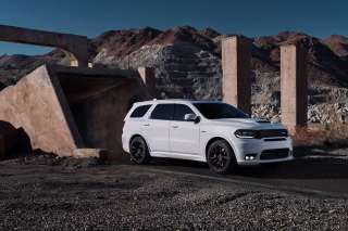 Dodge Durango SRT Background for Samsung Galaxy Tab 4