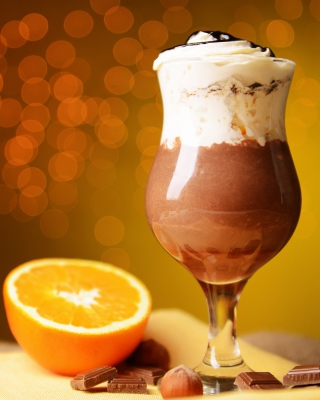 Chocolate cocktail Background for HTC Titan
