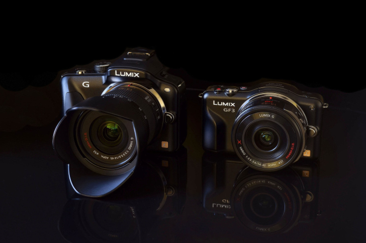 Panasonic Lumix GF3 Mirrorless wallpaper