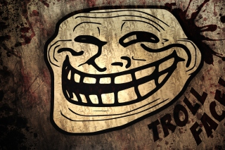 Troll Face Background for HTC Desire HD