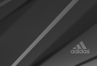 Free Adidas Grey Logo Picture for Android, iPhone and iPad