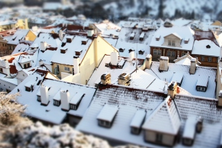 Kostenloses Rooftops In Prague Wallpaper für Android, iPhone und iPad