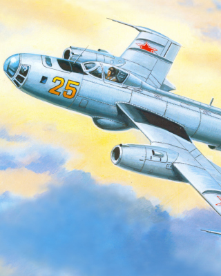 Yakovlev Yak 25 Soviet Union interceptor aircraft Picture for 240x320