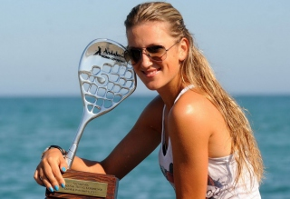 Victoria Azarenka Background for Android, iPhone and iPad