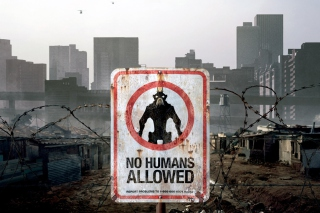 No Humans Allowed Background for Android, iPhone and iPad