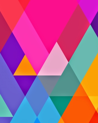 Color Geometry sfondi gratuiti per iPhone 6 Plus