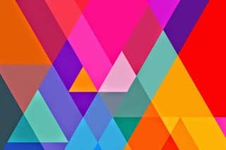 Kostenloses Color Geometry Wallpaper für Samsung Galaxy Tab 4