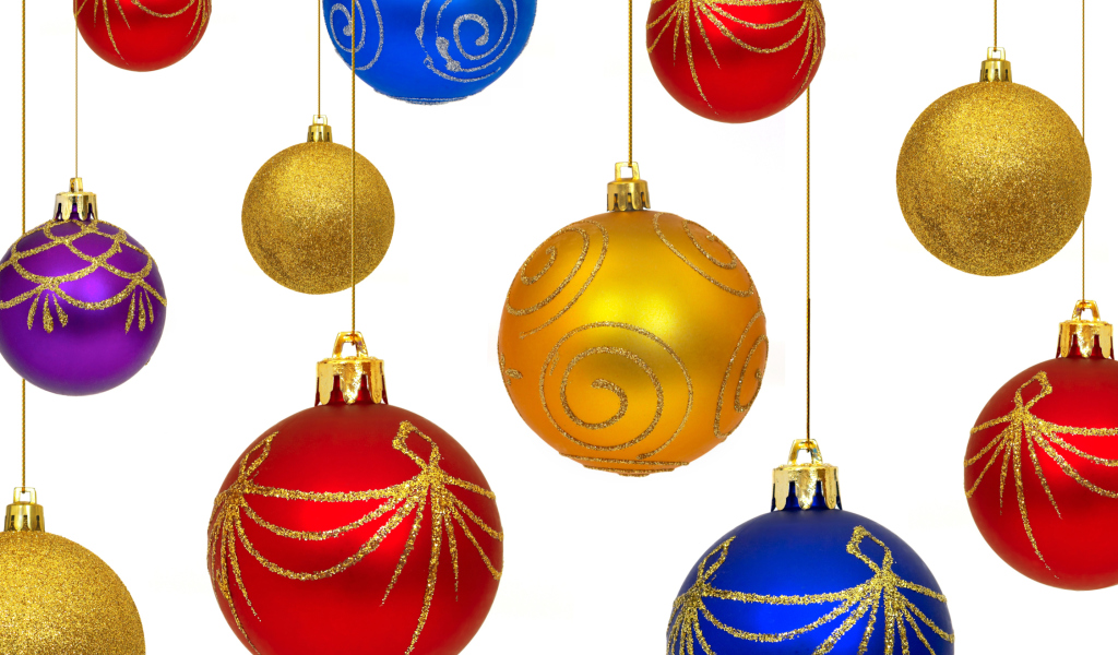 Christmas Decorations wallpaper 1024x600