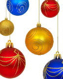 Christmas Decorations wallpaper 128x160