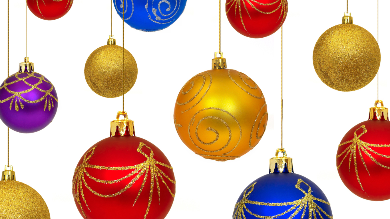 Christmas Decorations wallpaper 1366x768