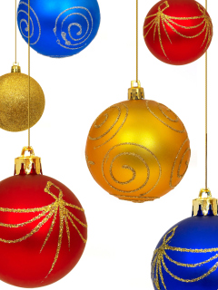Christmas Decorations wallpaper 240x320