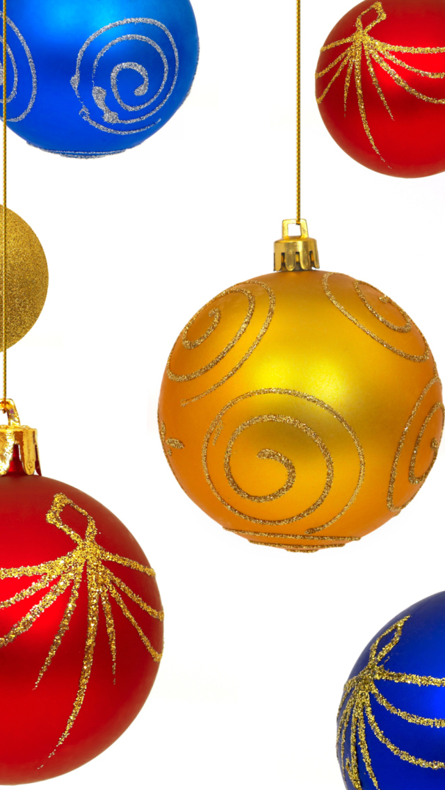 Christmas Decorations wallpaper 640x1136