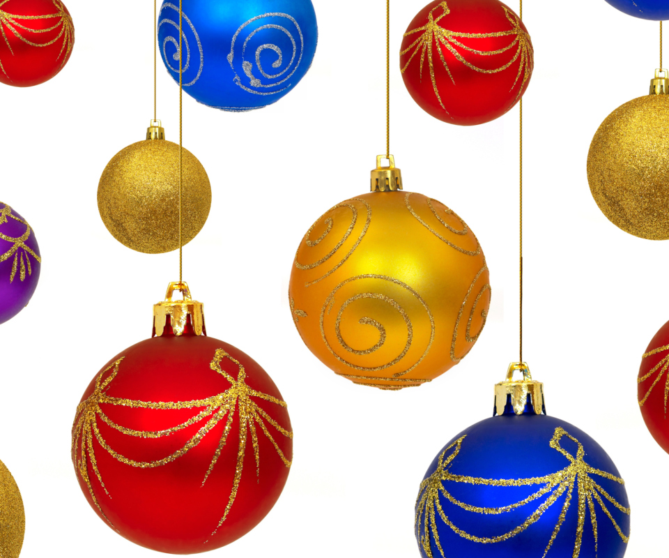 Christmas Decorations wallpaper 960x800
