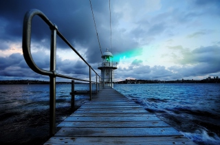 Lighthouse in Denmark Background for Android, iPhone and iPad