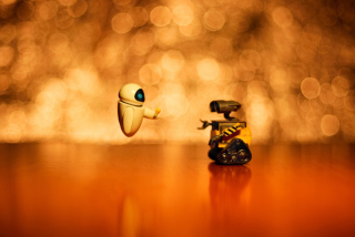 Wall E And Eve Background for Android, iPhone and iPad