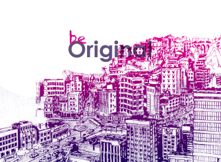 Be Original Wallpaper for Android, iPhone and iPad