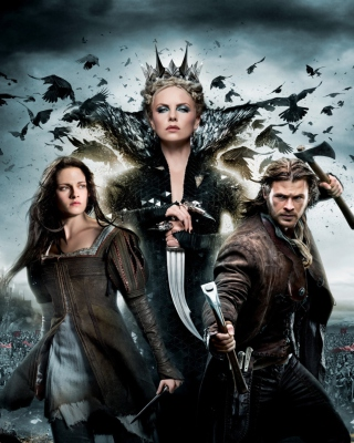 2012 Snow White And The Huntsman - Obrázkek zdarma pro iPhone 5S