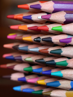 Crayola Colored Pencils screenshot #1 240x320