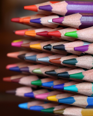 Crayola Colored Pencils Background for Nokia C1-01